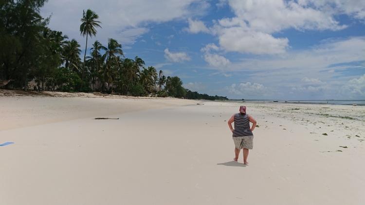der weite Strandblick